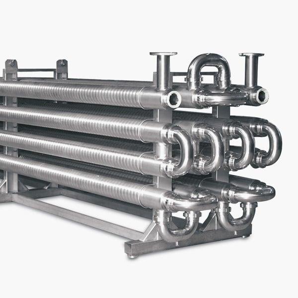 intercambiador de calor monotubo marca mbs