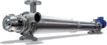 Intercambiador de calor de superficie rascada